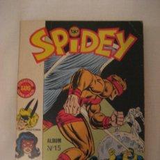 Cómics: SPIDEY (SPIDERMAN) ALBUM Nº 15 (EN FRANCES). Lote 26485031