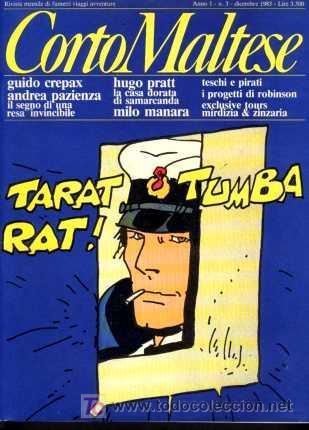 CORTO MALTESE, Nº 3, DICIEMBRE 1983, AÑO 1 (EN ITALIANO) (Tebeos y Comics - Comics Lengua Extranjera - Comics Europeos)