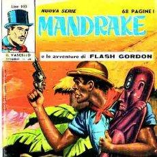 Cómics: MANDRAKE Nº 28 (EN ITALIANO). Lote 9636426