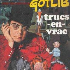 Cómics: GOTLIB / TRUCS-EN-VRAC. Lote 25335591