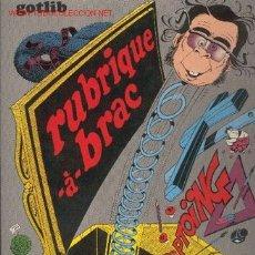 Cómics: GOTLIB / RUBRIQUE-À-BRAC 5. Lote 25335593