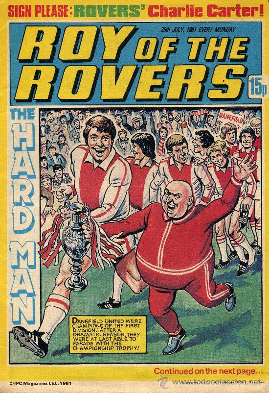 ROY OF THE ROVERS (IPC MAGAZINES, 1981) (Tebeos y Comics - Comics Lengua Extranjera - Comics Europeos)