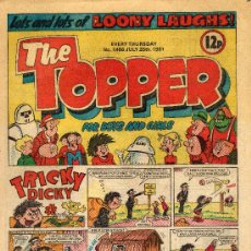Cómics: THE TOPPER. AÑO 1981. Lote 10151174
