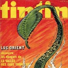 Cómics: TINTÍN Nº28 (HISTORIETAS DE SIMON DU FLEUVE, RAYON U, CHICK BILL,...).1974. Lote 10163994