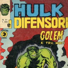 Cómics: HULK Nº11 (HISTORIETAS DE LA MASA, DOCTOR EXTRAÑO E HISTORIETA DE JACK KIRBY ANTIGUA). Lote 10220539
