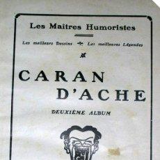 Cómics: CARAN D´ACHE. DEUXIME ALBUN. LES MAITRES HUMORISTES.LOS MEILLEURSS DESSINS + LES MEILLEURES LÉGENDE. Lote 24056517