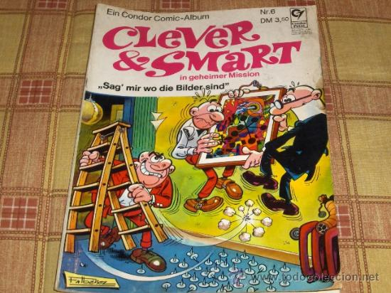 CLEVER & SMART Nº6. MORTADELO Y FILEMÓN EN ALEMÁN. CONDOR PRINT 1973. FRANKFURT. (Tebeos y Comics - Comics Lengua Extranjera - Comics Europeos)