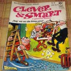 Cómics: CLEVER & SMART Nº6. MORTADELO Y FILEMÓN EN ALEMÁN. CONDOR PRINT 1973. FRANKFURT.. Lote 17582968