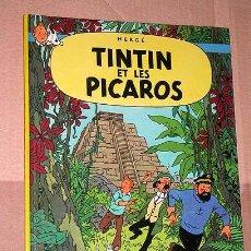 Cómics: TINTIN EL LES PICAROS. HERGÉ. EDICIÓN BELGA DE CASTERMAN 1984. IDIOMA FRANCÉS. TINTIN ET MILOU. ++++. Lote 24794187