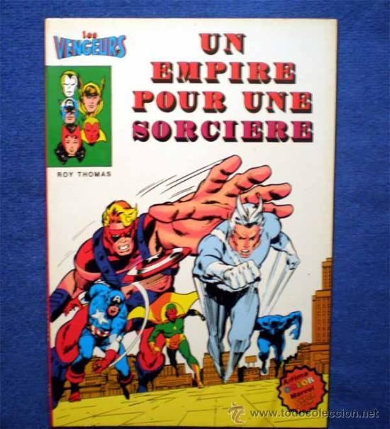 LOS VENGADORES (FRANCIA) - LES VENGEURS - UN EMPIRE POUR UNE SORCIERE (USA 75-76-77) (Tebeos y Comics - Comics Lengua Extranjera - Comics Europeos)