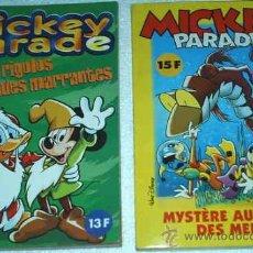 Cómics: MICKEY PARADE -- LOTE CON LOS NUMEROS 227 Y 264 -- EN FRANCES - PERFECTOS- IMPORTANTE LEER DETALLES. Lote 14541966