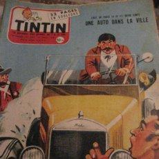 Cómics: TINTIN. Nª 492. 27-13-1958. 32 PAGINAS EN COLOR. ORIGINAL EN FRANCES.. Lote 27146563
