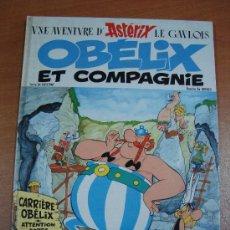 Cómics: UNE AVENTURE D´ASTÉRIX LE GAULOIS. OBÉLIX ET COMPAGNIE. DARGAUD 1976. Lote 18154120