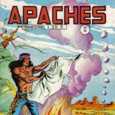Cómics: FLECHA ROJA EN FRANCES - DIBUJO DE SÁNCHEZ AVIA - APACHES Nº 32 - EDITADO EN FRANCIA. Lote 24536213
