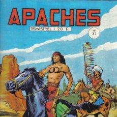 Cómics: FLECHA ROJA EN FRANCES - DIBUJO DE SÁNCHEZ AVIA - APACHES Nº 33 - EDITADO EN FRANCIA.. Lote 24536214