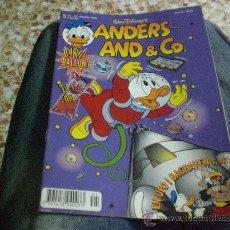 Cómics: COMIC PATO DONALD EN DANES Nº41.- ANDERS AND CO. DE WALT DISNEY'S 1.996. Lote 22471661