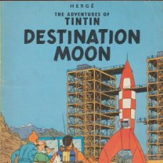 Cómics: THE ADVENTURES OF TINTIN ''DESTINATION MOON''. MAGNET. INGLATERRA.. Lote 19127894
