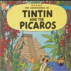 Cómics: THE ADVENTURES OF TINTIN ''TINTIN AND THE PICAROS''. MAGNET. INGLATERRA.. Lote 19127897