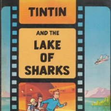 Cómics: THE ADVENTURES OF TINTIN ''TINTIN AND THE LAKE OF SHARKS'' MAGNET. INGLATERRA.. Lote 19127926