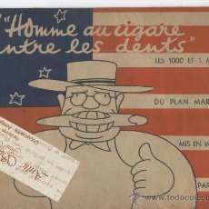 Cómics: COMIC.FRANCES.FRANCIA.ESTADOS UNIDOS. USA.AÑO 1950.L' HOMME AU CIGARE ENTRE LES DENTS. . Lote 19246931