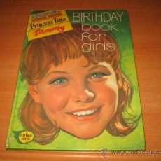 Cómics: BIRTHDAY BOOK FOR GIRLS 1972 JUNE AND SCHOL FRIEND.-PRICESS TINA.-TAMMY MAGAZINES . Lote 25638910