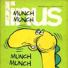 Cómics: LINUS - MARZO 72 - NÚMERO 3 (84). Lote 26958300