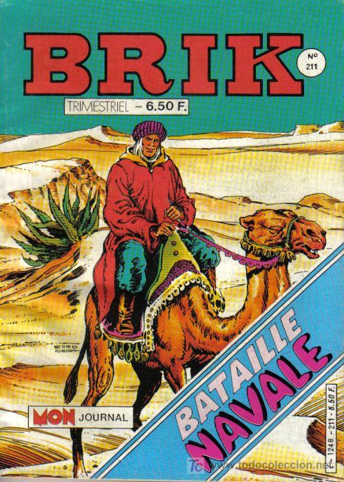 EL CORSARIO DE HIERRO EN FRANCÉS - BRIK Nº 211 - OCTUBRE 1985 - CON PORTADA DEL CORSARIO DE HIERRO (Tebeos y Comics - Comics Lengua Extranjera - Comics Europeos)