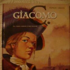 Cómics: GIACOMO C. POUR L'AMOUR D'UNE COUSINE. T. 5. DUFAUX/GRIFFO. ED. GLÉNAT, 2005.. Lote 27014031
