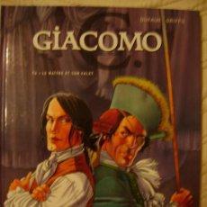 Cómics: GIACOMO C. LE MAÎTRE ET SON VALET. T. 4. DUFAUX/GRIFFO. ED. GLÉNAT, 2005.. Lote 27014032