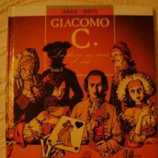 Cómics: GIACOMO C. LA DAME AU COEUR DE SUIE. T. 3. DUFAUX/GRIFFO. ED. GLÉNAT, 2001.. Lote 27014033