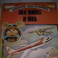 Cómics: GRANDES MOMENTOS DE IBERIA - MAQUINAS VOLADORAS. Lote 22027605