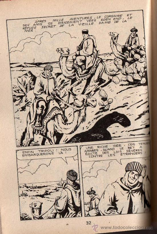 Cómics: EL CORSARIO DE HIERRO EN FRANCÉS - BRIK nº 211 - Octubre 1985 - CON PORTADA DEL CORSARIO DE HIERRO - Foto 2 - 26654769