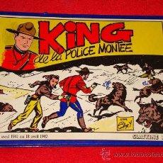 Cómics: KING DE LA POLICE MONTÉE VOLUMEN 1. ZANE GREY Y JIM GARY. SLATKINE B.D. 1983. POLICÍA MONTADA CANADÁ. Lote 25589558