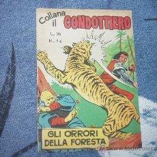 Cómics: EL CAPITAN TRUENO EN ITALIANO ( + EL PEQUEÑO MOSQUETERO). Lote 27012012