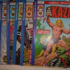 Cómics: KA-ZAR Nº1 COLECCION DE 6 COMIC. Lote 27638807