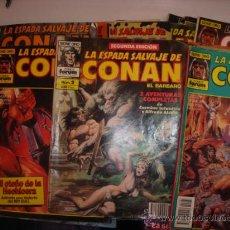 Cómics: CONAN EL BARBARO 27 UNIDADES. Lote 26155097