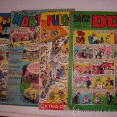 Cómics: DDT / MORTADELO /PULGARCITO. Lote 27603199