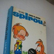 Cómics: ALBUM DU JOURNAL SPIROU 108-DUPUIS-1968. Lote 28239179