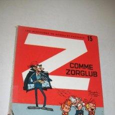 Cómics: Z COMME ZORGLUB-LES AVENTURES DE SPIROU ET FANTASIO Nº. 15 -PAR FRANQUIN-DUPUIS-1967. Lote 28242457