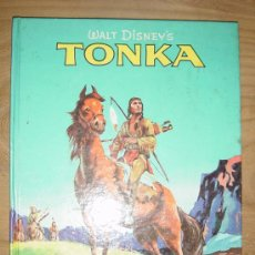 Cómics: TONKA. WALT DISNEY´S. BASED ON COMANCHE BY DAVID APPEL. EDICION INGLESA 1961. COLOR Y B Y N.. Lote 28376692