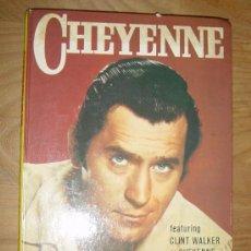 Cómics: CHEYENNE. TELEVISION STORY BOOK. FEATURING CLINT WALKER. EDICION INGLESA 1960. Lote 28376805