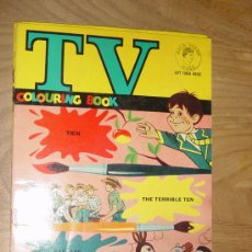 Cómics: TV COLOURING BOOK Nº 2 : THE TERRIBLE TEN, TICH, RAG, TAG AND BOBTAIL. EDICION INGLESA 1964. *. Lote 28429884