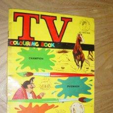 Cómics: TV COLOURING BOOK Nº 1 : CHAMPION, PUGWASH, PACKI. EDICION INGLESA 1964. PARA COLOREAR *. Lote 28429908