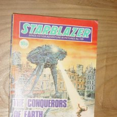 Cómics: STARBLAZER Nº 105. THE CONQUERORS OF EARTH. EDICION INGLESA 1983. Lote 28430511