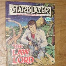 Cómics: STARBLAZER Nº 197. THE LAW LORD. EDICION INGLESA 1987. Lote 28430543