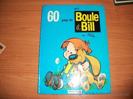 60 GAGS DE BOULE ET BILL Nº 2 DUPUIS 1977 TAPA DURA EN FRANCES (Tebeos y Comics - Comics Lengua Extranjera - Comics Europeos)