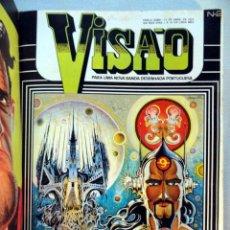 Cómics: VISÃO. PARA UMA NOVA BANDA DESENHADA PORTUGUESA. NUMEROS 1 AL 12 EN UN TOMO. LISBOA, 1975. Lote 29969059