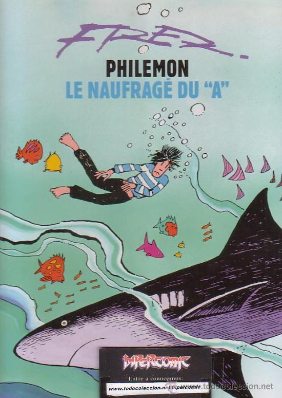 PHILEMON, LE NAUFRAGE DU A ( EDICION EN FRANCES ) (Tebeos y Comics - Comics Lengua Extranjera - Comics Europeos)