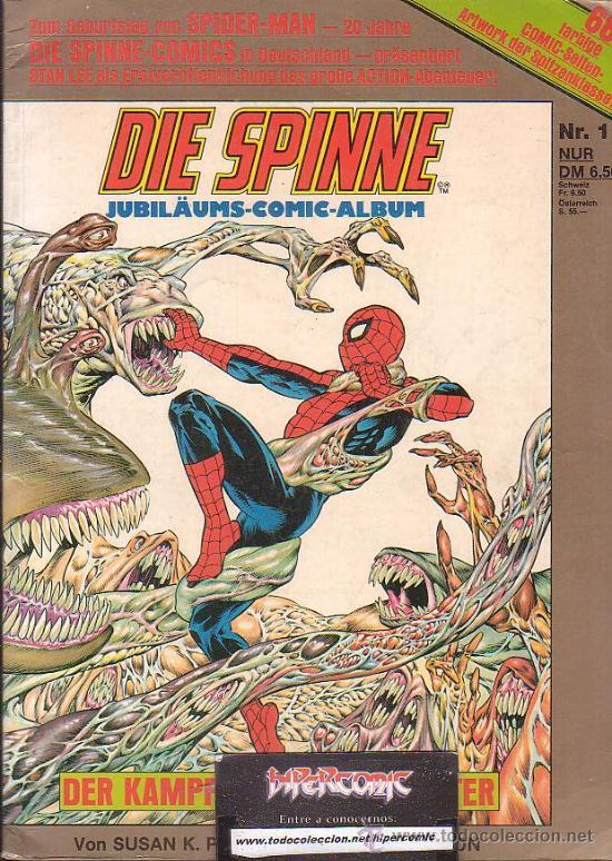 DIE SPINNE / AUTOR: STAN LEE ( SPIDERMAN , EDICION EN ALEMAN) (Tebeos y Comics - Comics Lengua Extranjera - Comics Europeos)