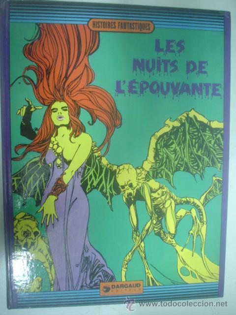 HISTOIRES FANTASTIQUES: LES NUITS DE L´EPOUVANTE. DARGAUD, 1973 (Tebeos y Comics - Comics Lengua Extranjera - Comics Europeos)